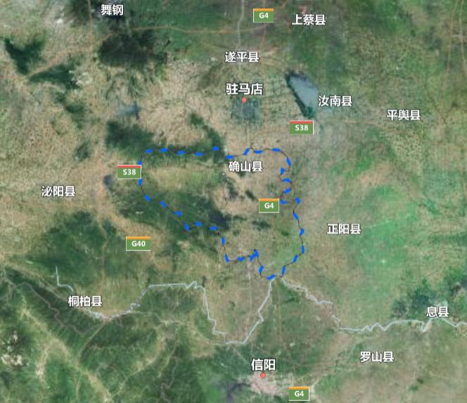 河南省一个县,人口超50万,因为一座山而得名!