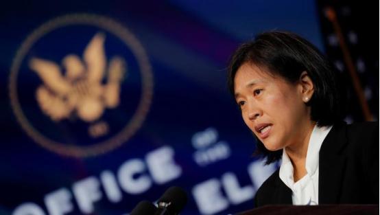 面对中国的美国高级官员做出了反对中国的举动!她是拜登内阁中的第一位中国女性