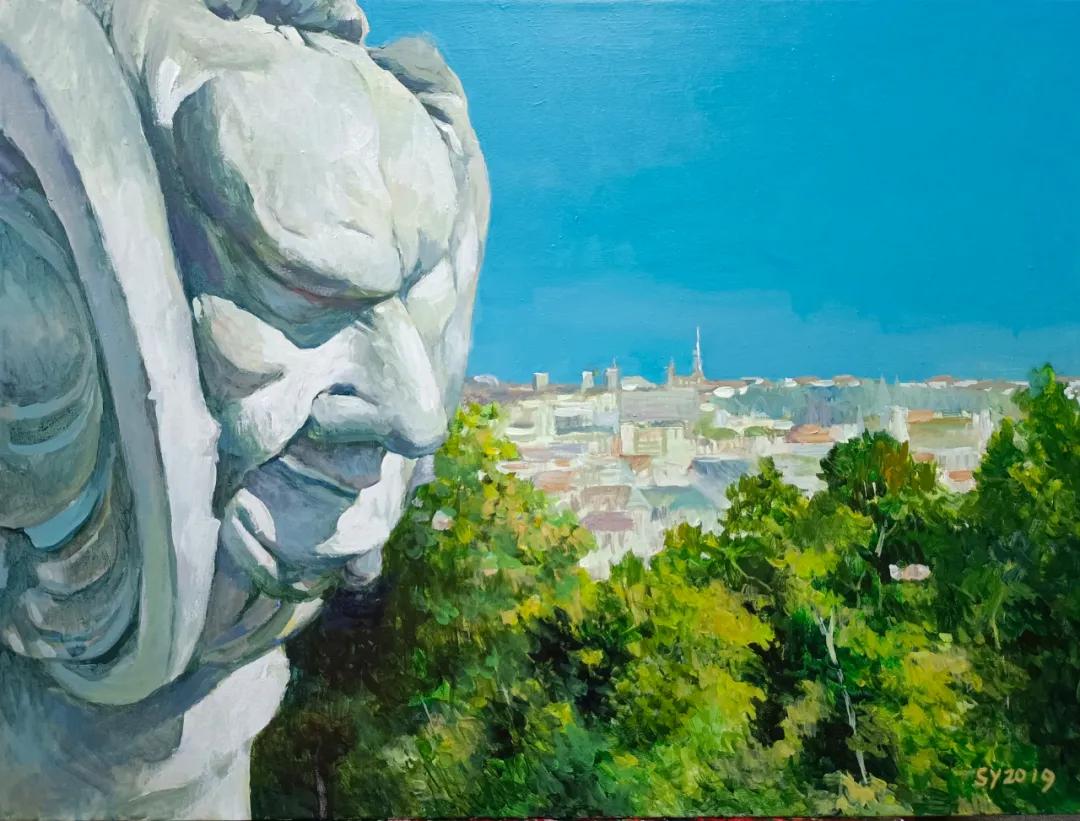 名家风采——孙勇先生油画作品
