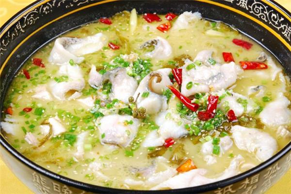 酸菜鱼 汤鲜鱼嫩的开胃菜 重庆江湖菜先锋