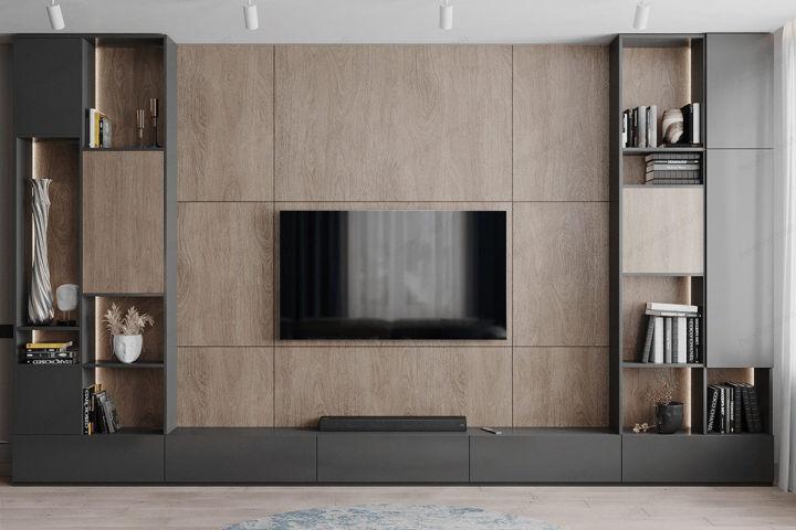 家居设计 如何平衡灰色和深蓝色的内饰?