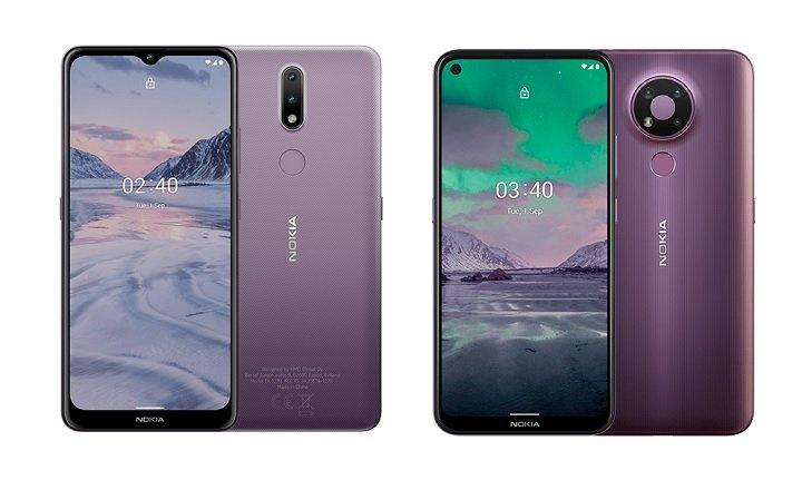Nokia公布2款新手入门新手机,选用后置摄像头指纹验证
