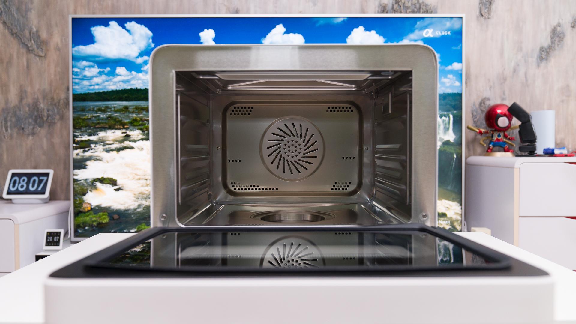 小米要占领厨房了?家里第四件小米厨电,米家智能蒸烤箱好用吗?