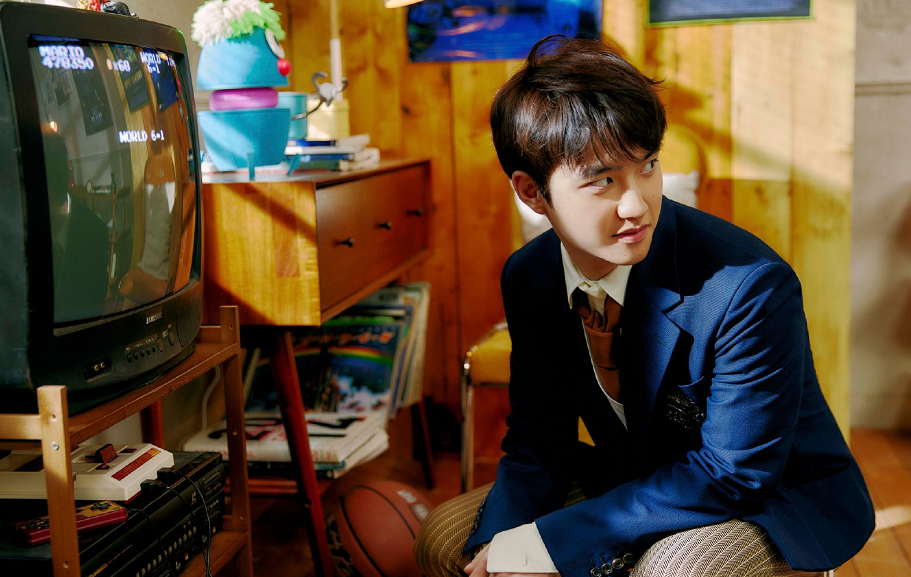 EXO第六位SOLO成员,大忙人都暻秀出专辑,还有两部电影待拍