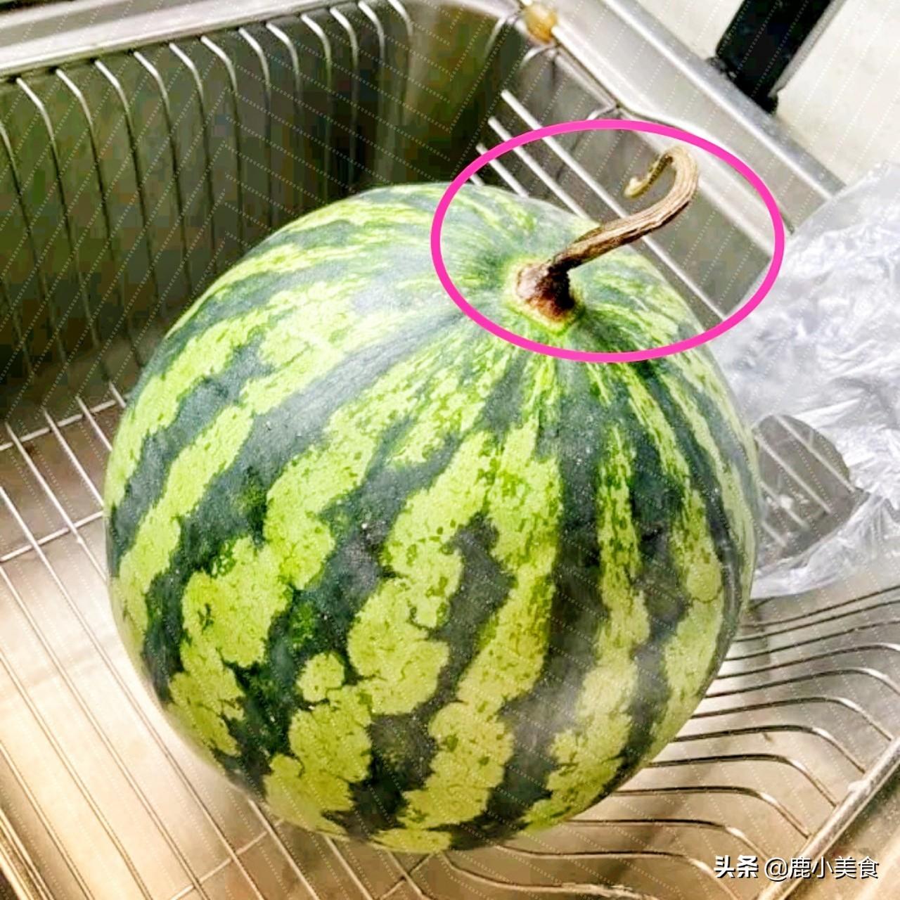 西瓜甜不甜,看4個地方! 一挑一個準,老瓜農的竅門太管用了