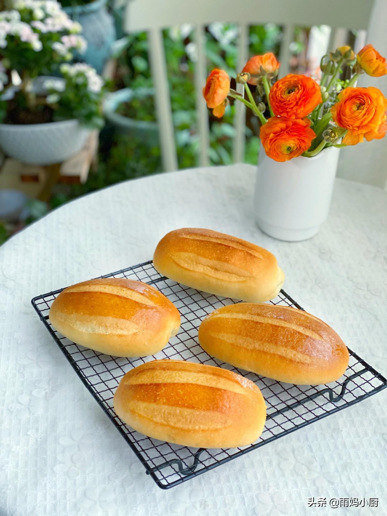 春天愛吃的早餐,奶香濃郁的牛奶哈斯早餐包,香氣四溢又鬆軟