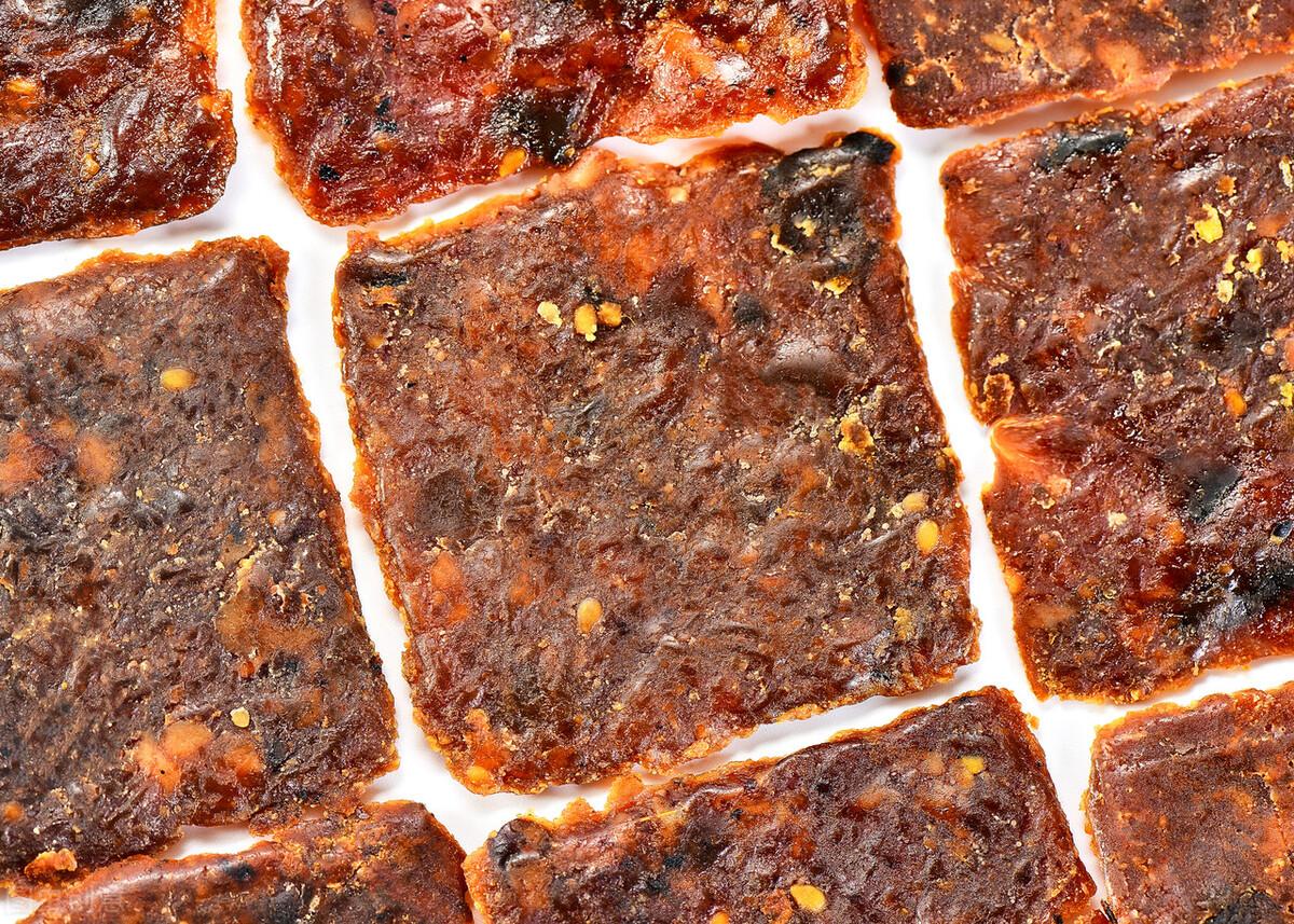 自制猪肉脯太简单,成本也很低,好吃不腻营养高,夏天多给孩子吃 美食做法 第5张