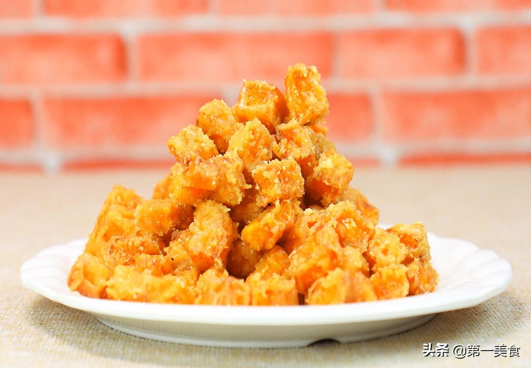 【糖脆红薯】做法步骤图 做法简单 新手也能做出饭店的味道