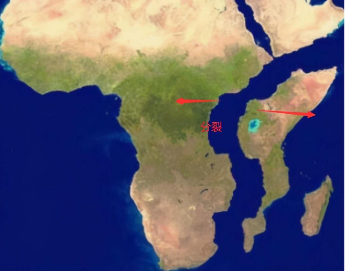 地球正在被切割,非洲板塊被撕裂,未來將出現第八大洲
