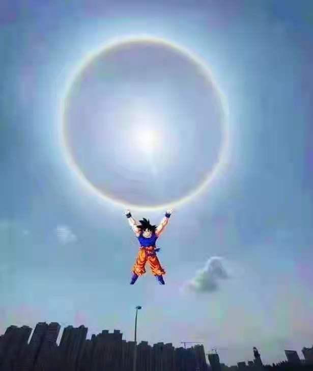 """被玩壞的""""日暈"""",奧特曼集齊地球,悟空施展元氣丹,拯救世界"""