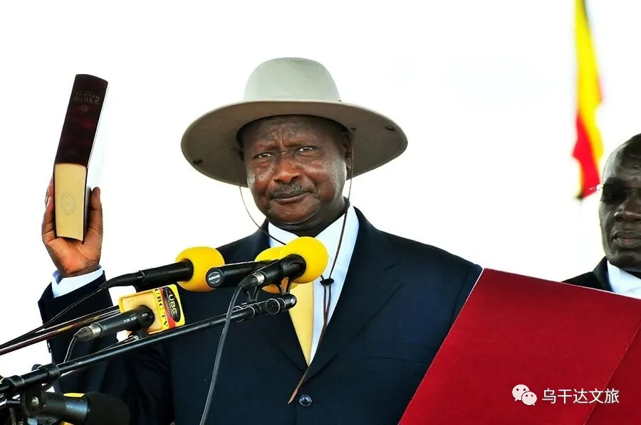 <a href=https://m.kgongcn.com target=_blank class=infotextkey>乌干达</a>总统就职演说三次提到中国