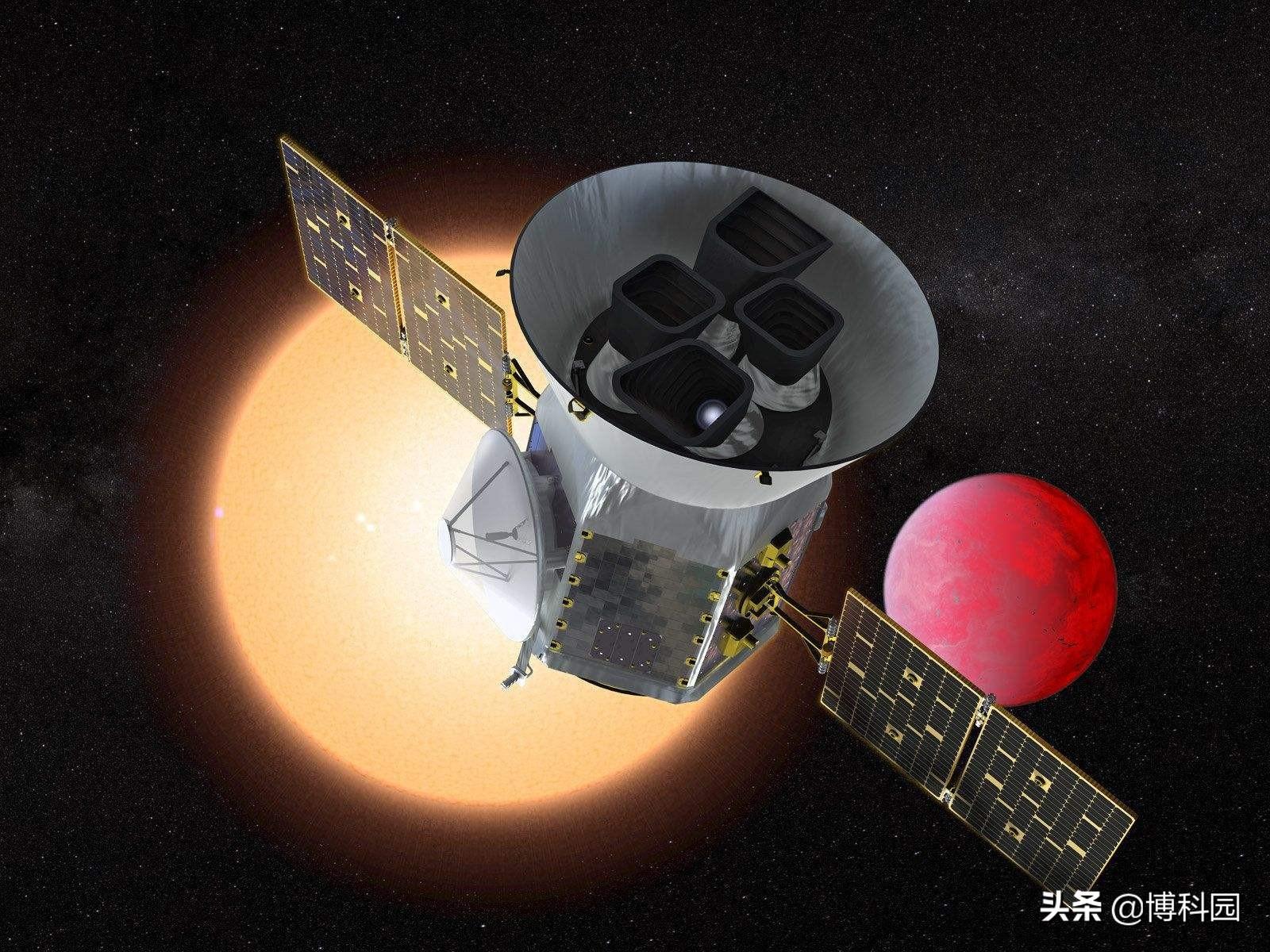"NASA""苔丝号""新发现:土星大小的系外行星"