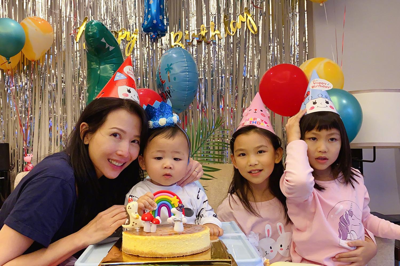 蔡少芬曬兒子首個生日照,鼻子和媽媽如出一轍,孩子小名是亮點