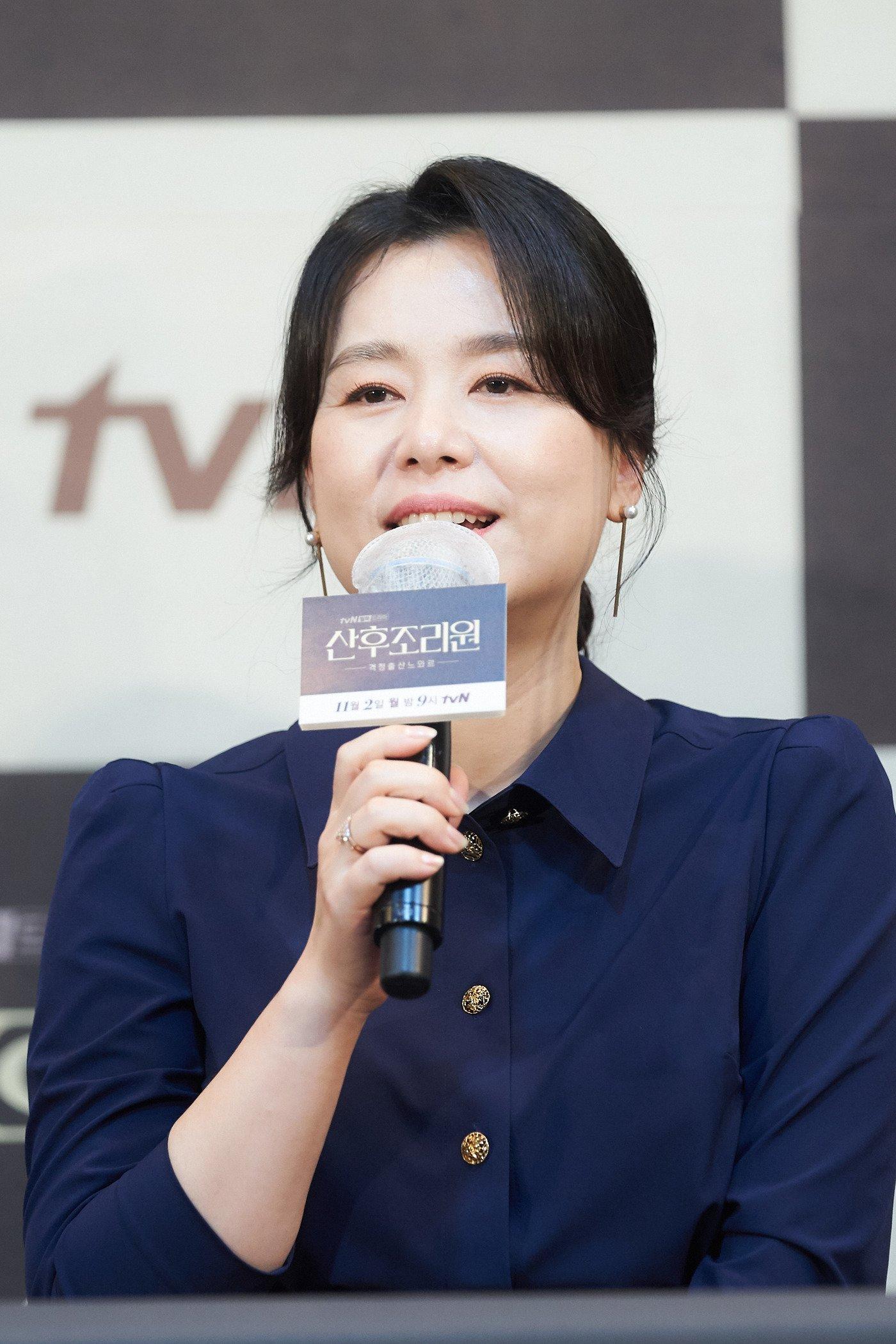 《产后调理院》严智苑、朴河宣、张慧珍、尹博出席新剧发布会