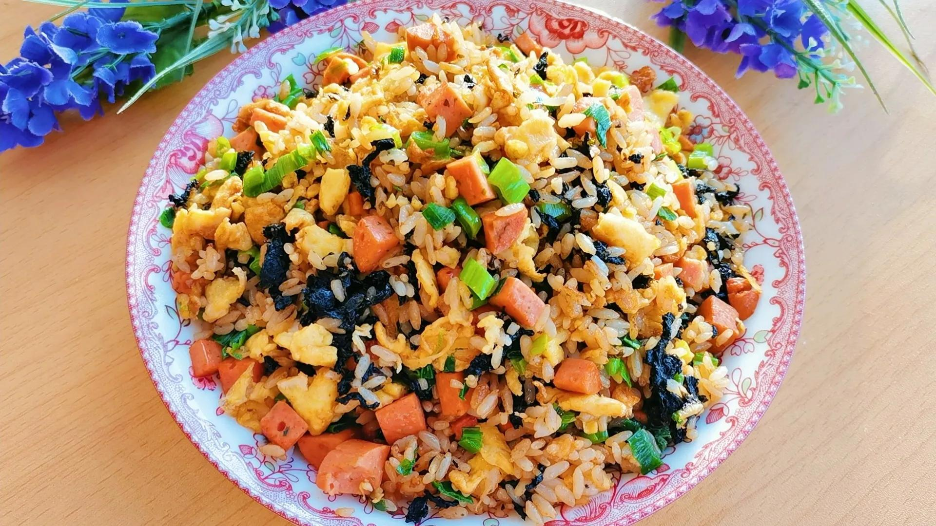 紫菜不要老做汤,试试这样做,好吃又营养,老中幼都爱吃 美食做法 第1张