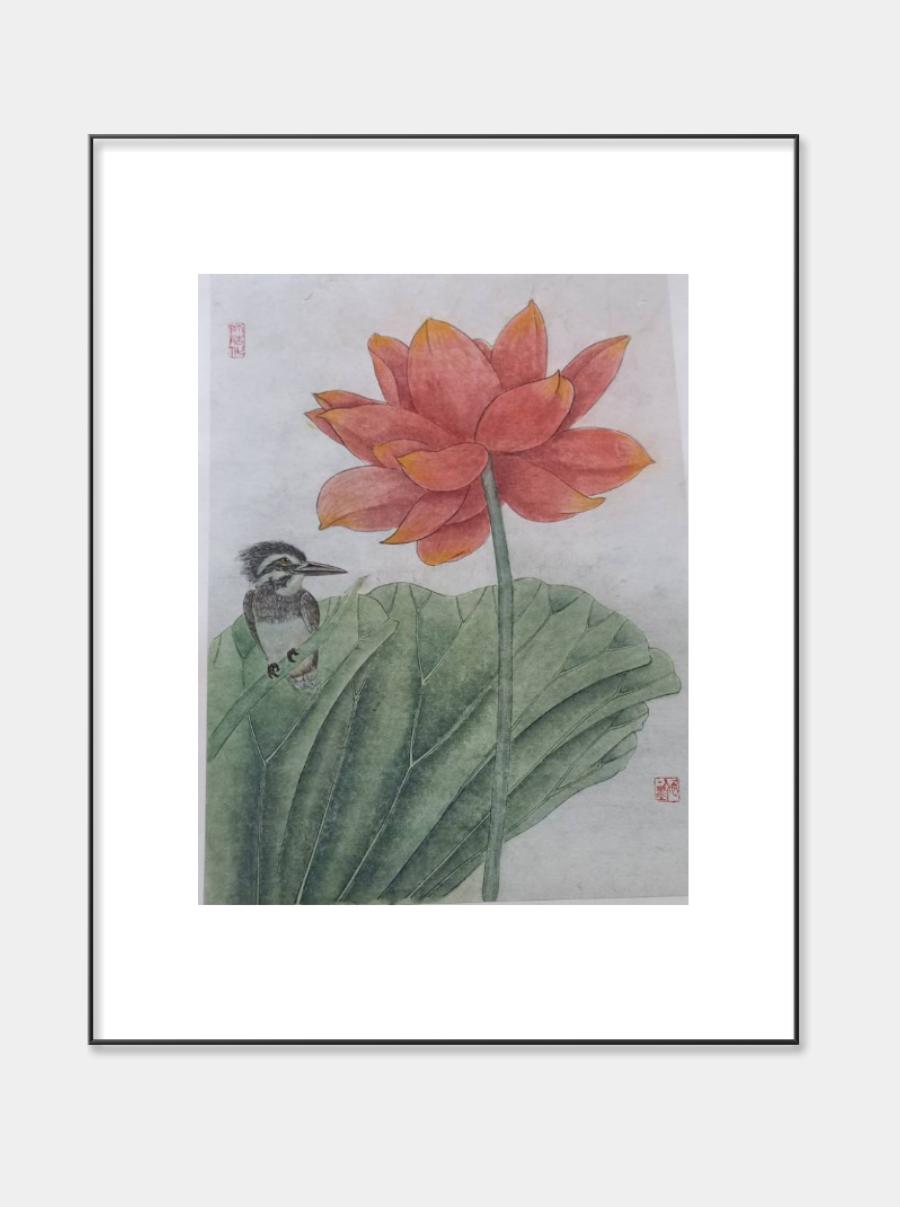 北京国创书画院院长-著名书画家颜娟作品赏析