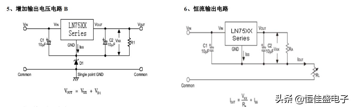 LN75XX--高输入电压 低压差 CMOS 稳压器