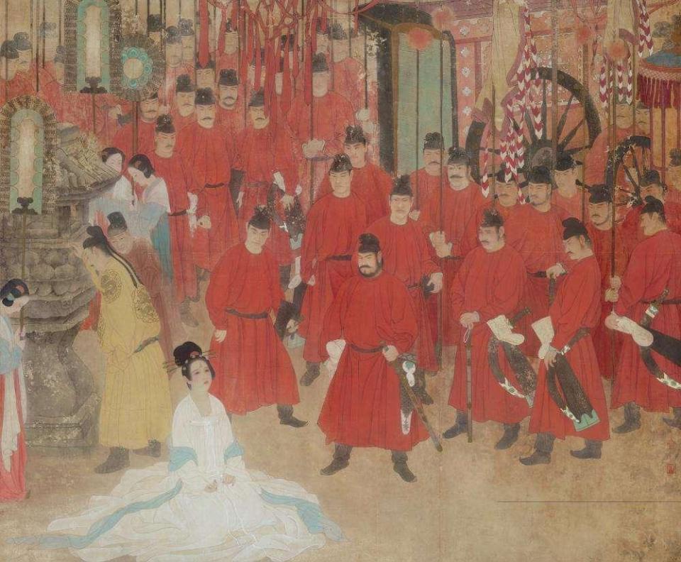 红颜薄命的杨贵妃:唐玄宗的逃亡之路,爱情终究输给了权力