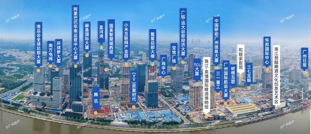 广州为什么是一线城市?故事要从工业大道,一直说到琶洲西区
