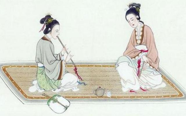两汉时期女子教育不再以三从四德为准,还增加了文学教育