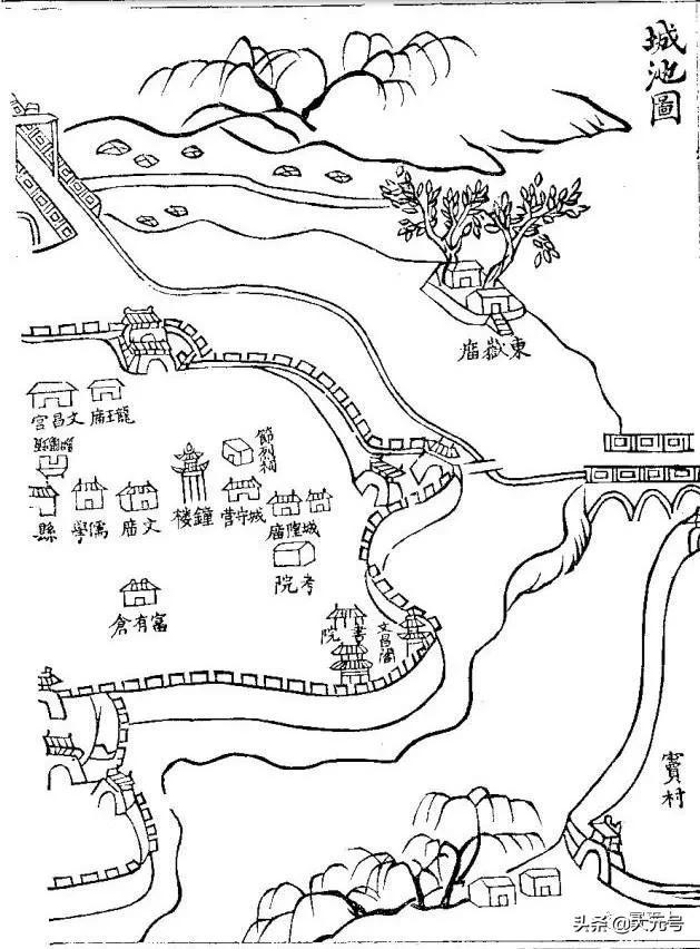 清朝光绪年间的富平县地名、古迹今存多少?