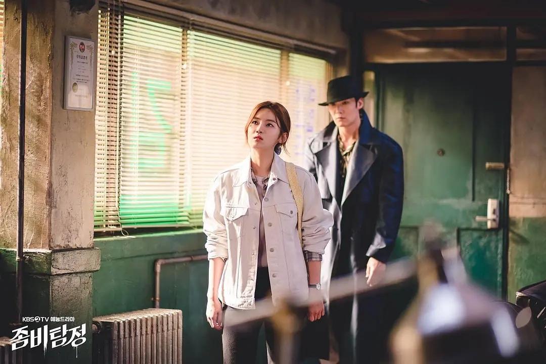 又一部韩剧首播登上热搜,僵尸走上热血侦探路,剧情中二太搞笑了
