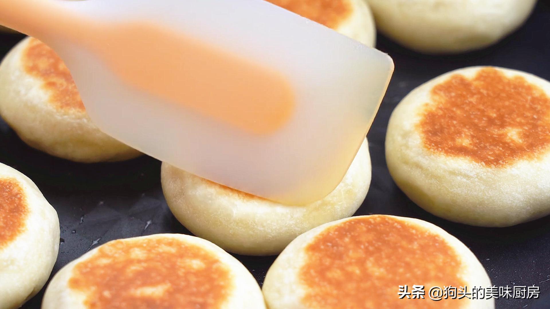 不做酥皮不用烤箱就能做的绿豆饼,清甜不油腻,比外面买的还好吃 美食做法 第19张