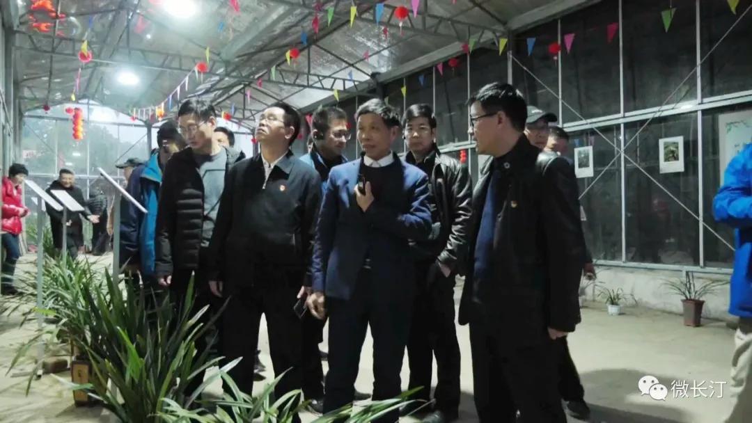 福建省委党校第99期县处级干部进修班学员来汀开展现场教学