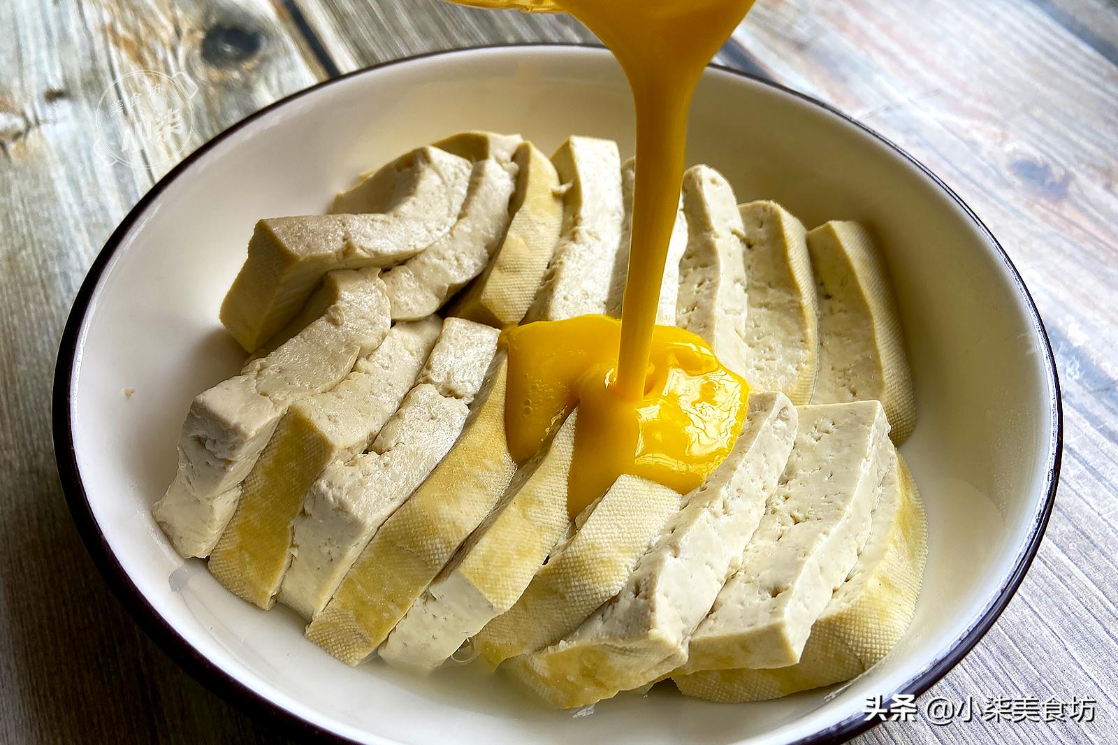 豆腐裡打2個雞蛋,不炸也不炒,一周吃7次都不夠,比吃肉還香