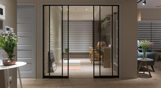 十大門窗品牌愛迪雅門窗,極簡門窗怎么搭配