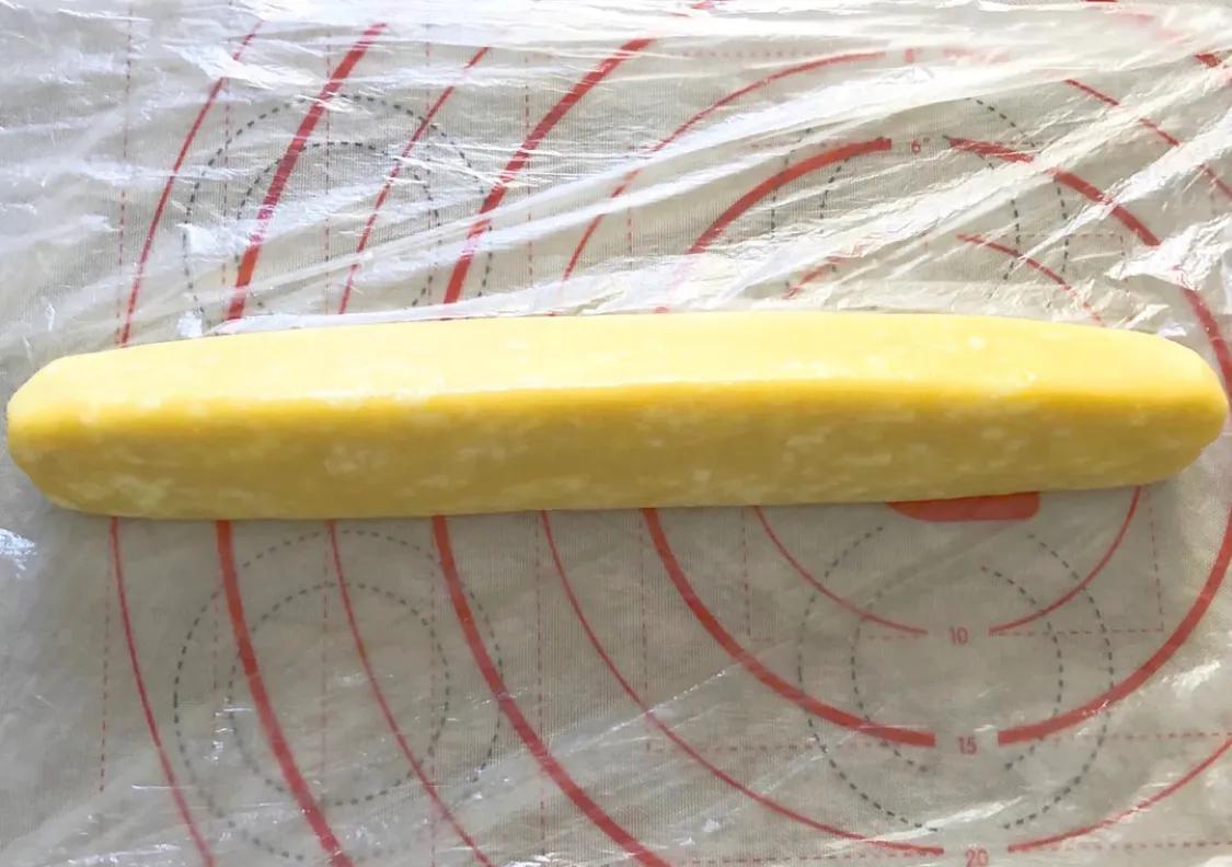 超简单,免打发的黄金芝士咸味饼干 美食做法 第9张