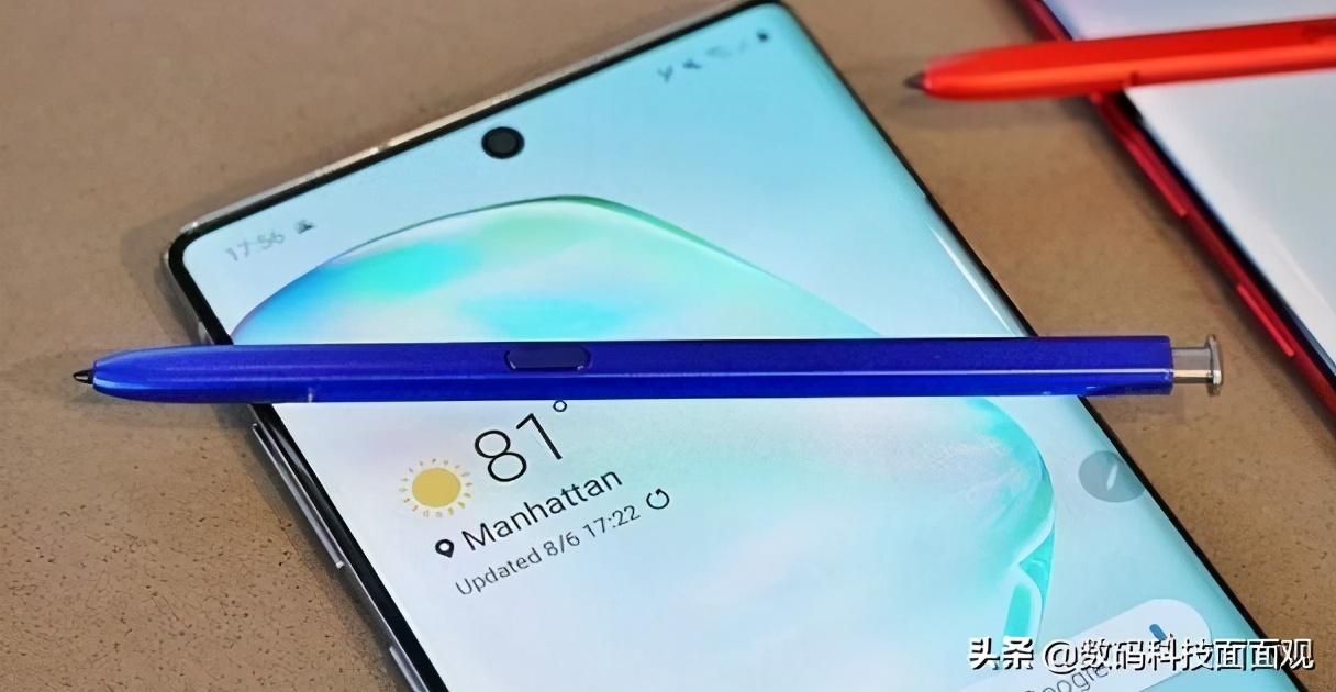 三星Note21 Ultra曝光,采用全新设计,取消屏幕开孔