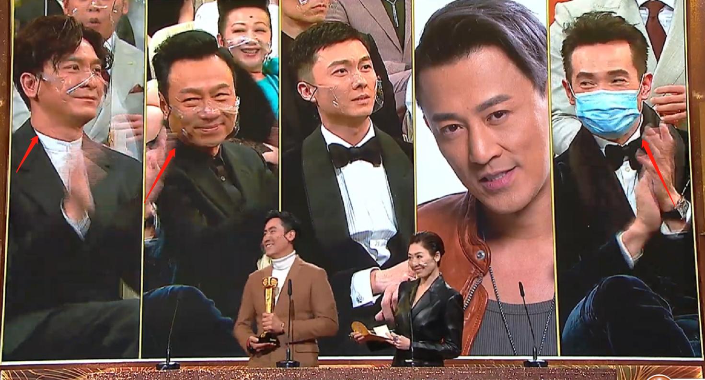 TVB颁奖礼王浩信拿视帝,蔡思贝爆冷夺视后,入围者表情好精彩