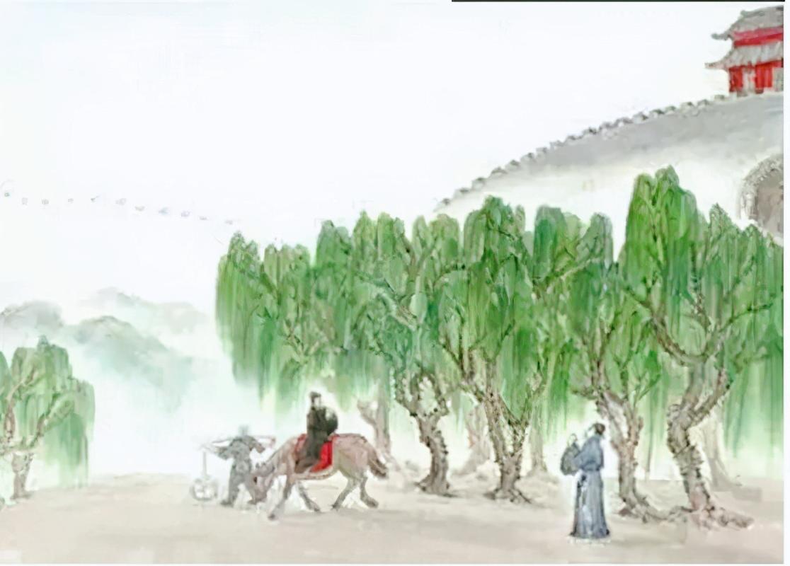 灞桥折柳送行的风俗是怎么形成的