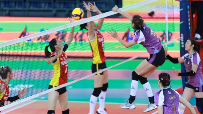 5连胜!天津女排3-0打破上海全胜金身,朱婷李盈莹完胜双外援