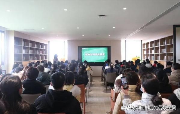 江苏滨海县一中开展亲子共阅读 书香伴成长活动