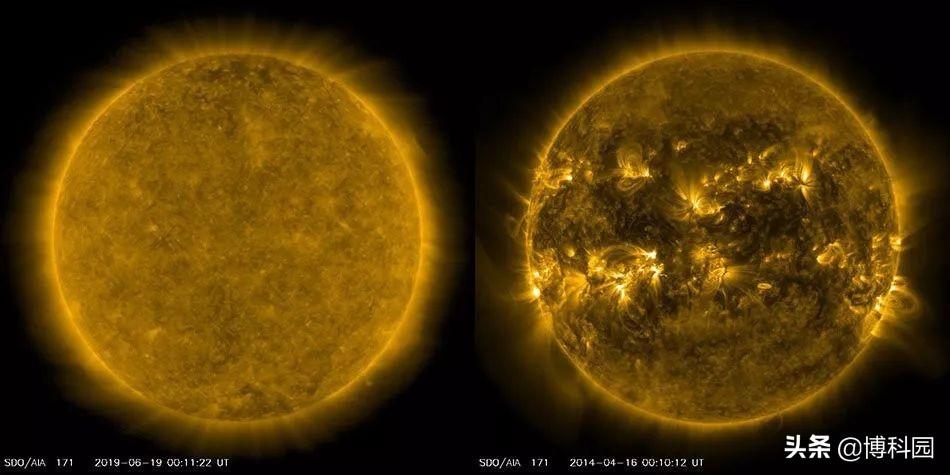 """太阳上的""""终结者""""引发等离子体海啸,并产生新的太阳周期"""