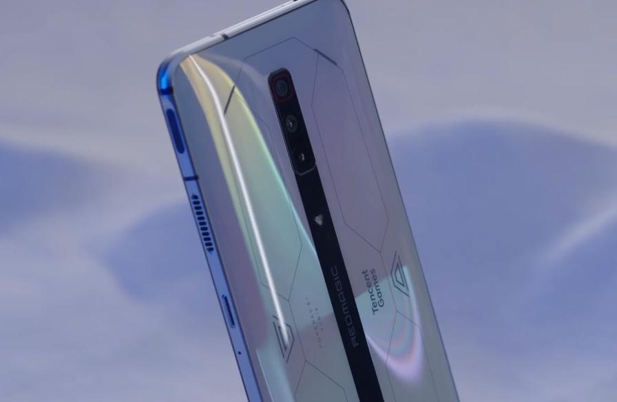 游戏手机的颜值天花板!红魔6S Pro采用非对称式半透明设计
