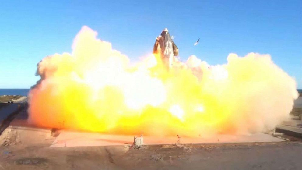 美国再次传来噩耗,巨型星际飞船成功发射,触地炸成碎片功亏一篑