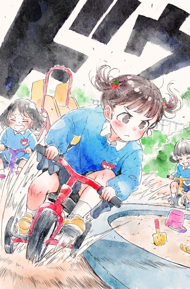 又一位日本画师的作品火了,这组幼稚园女孩的日常插画真的好可爱
