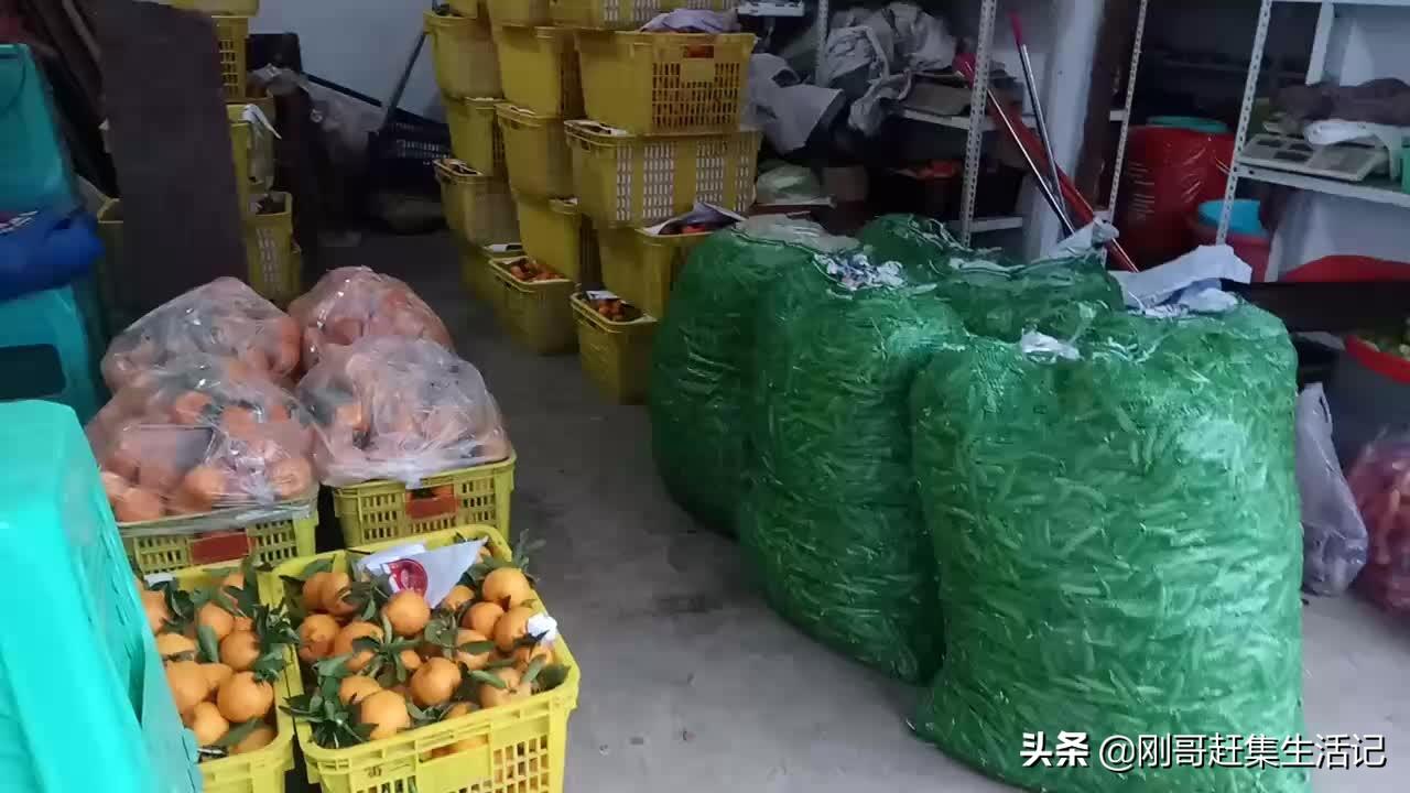 农村赶集之蔬菜配送,掌握好方法你也能一天卖出一千斤