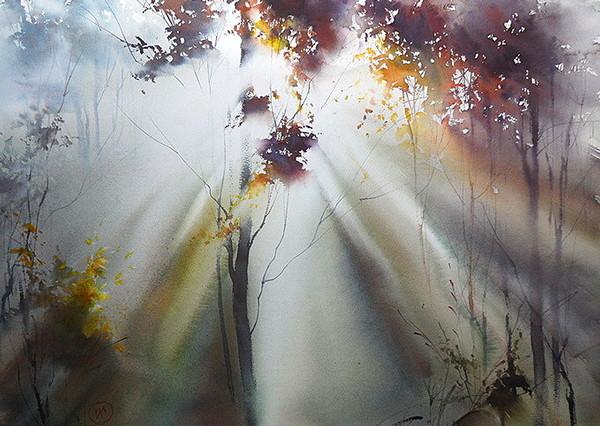 十幅让你沉浸其中的大自然画作
