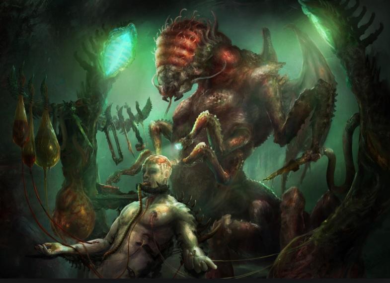 克苏鲁神话生物——米·戈