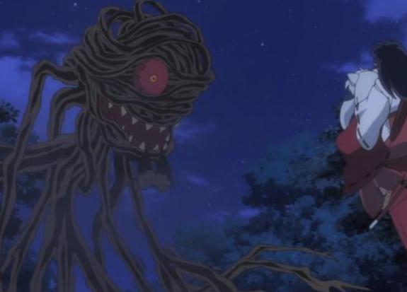 半妖的夜叉姬:百足妖妇也是老工具妖了,妖怪也有2G网