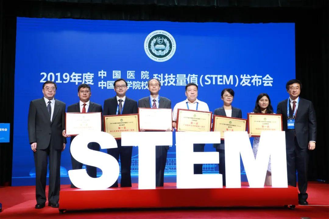 重磅!中国医院科技量值排行榜发布:浙大一院综合排名全国第三,7大专科名列全国前十