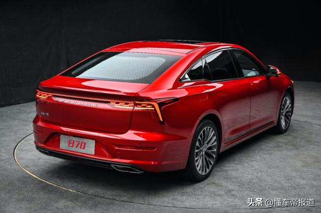 新车   第三代奔腾B70预计11月上市 北京车展正式亮相