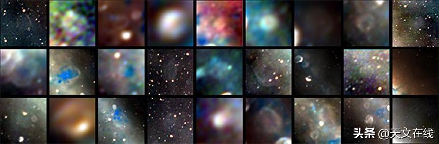 如果我们可以用无线电观测到银河系的中心,那么这就会是它的样貌
