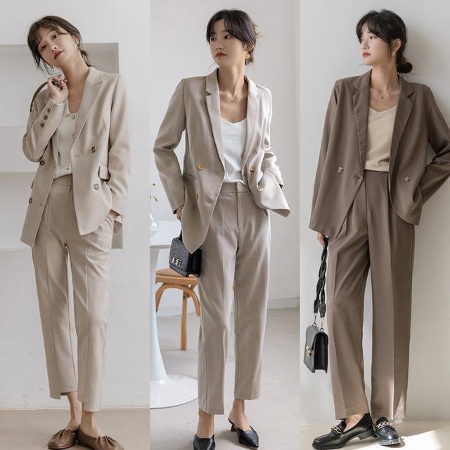 轻熟女人上班怎么穿好看?这些简约优雅的通勤风穿搭,时髦又知性
