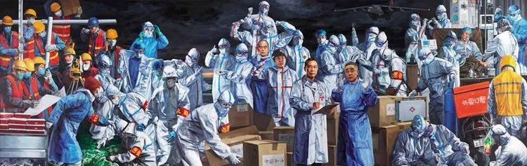 庆祝中国共产党成立100周年美术作品展览欣赏(六)