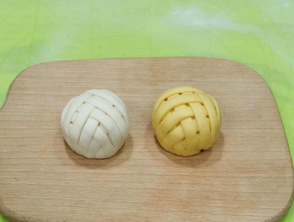 老人孩子都喜欢的绣球馒头来啦 美食做法 第14张